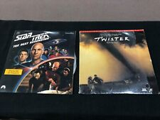 Lion King Star Trek Back to the Future Wayne's World Twister Laser Disc Lot x15