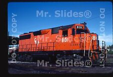 Original Slide Mexico CH-P Chihuahua Pacifico Rare GP28 801 Chihuahua CHIH 1983