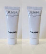 New (2) Chanel Le Blanc Brightening Moisturizing Cream  .17oz x 2 = ..34oz!
