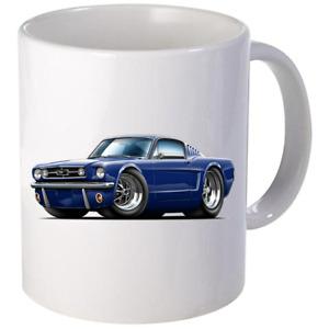 1965 1966 Ford Mustang Fastback Coffee Mug 11oz 15 oz Ceramic NEW