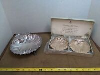 Silverplated Shell Dishes England used for nut Butter Candy or jams