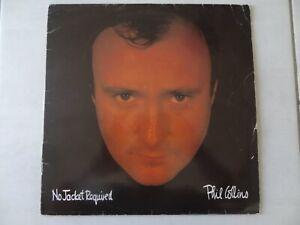 PHIL COLLINS no jacke requiered Vinyle 33 tours   très  Bon état