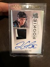 09-10 Logan Couture the cup rookie 3 color patch autograph 29/249 sick!