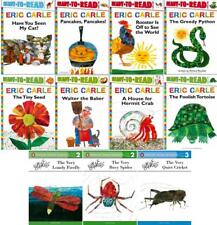 Eric Carle LEVEL PRE-3 Readers Series Collection Set Books 1-11 by Eric Carle