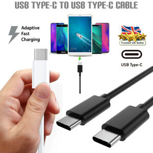 USB 3.1 TYPE-C to TYPE C Fast Charging Data Transfer Sync Lead Cable Mac Samsung
