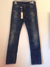 BNWT 100% Auth Diesel, Ladies Wenga Straight Jeans. 28/34 Rrp £220