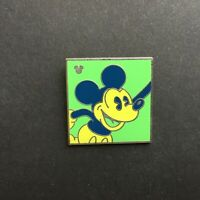WDW - 2010 Hidden Mickey Series - Neon Mickey - Green Disney Pin 75169