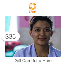 $35 Charitable Donation For: CARE Package Gift Card for a Frontline Hero