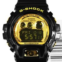 NEW* CASIO MENS G SHOCK GOLD BLACK DIGITAL WATCH XL GDX6900FB-1A RRP £129