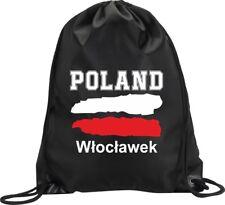 BACKPACK BAG WLOCLAWEK Włocławek POLAND GYM HANDBAG FLAG SPORT