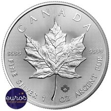 CANADA - Maple Leaf 2020 - 5 dollars CAD - 1 Oz - Argent 999,99‰ - Bullion Coin