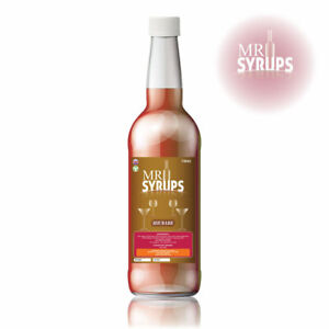 750ml Rhubarb Flavour Drink Syrup - Flavouring for Drinks - Cocktail Syrup