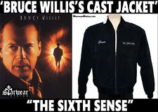 Authentic Bruce Willis Sixth Sense Screen Used Worn Movie Prop Bomber Jacket M