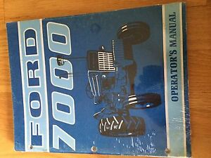 NEW HOLLAND FORD OPERATOR TRACTOR MANUAL 7000 operator's