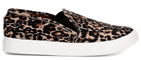 New Steve Madden Womens Casual Sneakers Shoes Symba Leopard size 8.5