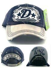 Dallas New Leader Vintage Cowboys Colors Blue Gray Era Dad Strapback Hat Cap 81aed656404
