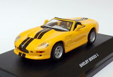 Maxi Car 1/43 Scale Model Car MX23520 - Shelby Series 1 - Yellow