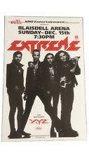 Extreme With Special Guest Xyz 1991 Original Vintage Hawaii Concert Poster