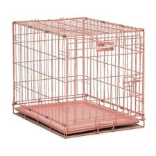 "Midwest Single Door Dog Crate - PINK 24"" x 18"" x 19"""