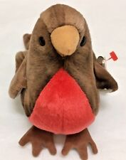 """TY BEANIE BABIES """"EARLY"""" THE ROBIN BIRD! RETIRED, WITH ERRORS!!!"""