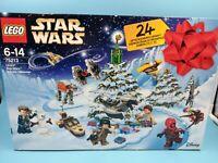 neuf calendrier de l'avant lego star wars 75213