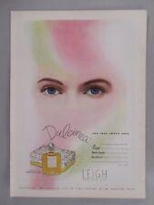 Dulcinea Perfume PRINT AD - 1944 ~~ Leigh Perfumers