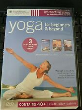 Yoga for Beginners & Beyond Yoga for Stress Relief AM-PM 3 Disc Set