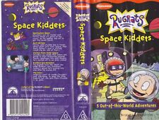 RUGRATS SPACE KIDDETS VHS PAL VIDEO~ A RARE FIND