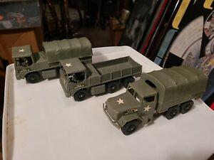Tim Mee Square Cab Plastic Military Army Transport Trucks