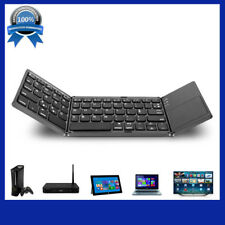 Folding Wireless Bluetooth Keyboard Touch Pad Mouse for iOS Android Microsoft