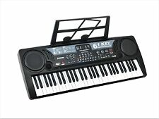 61 Key Electronic Music Keyboard Piano Electric Organ - w/ USB Input & Lessons
