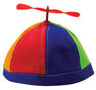 100% Cotton Adjustable Propeller Beanie Cap