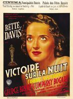 Dark Victory Bette Davis vintage movie poster print #3