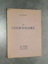 Daniel-Rops LE COURTINAIRE Les Cahiers de l'Alpe 1938 GRENOBLE Numéroté LECOANET