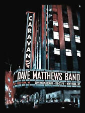 2011 DAVE MATTHEWS BAND CARAVAN GOVERNOR'S ISLAND NY N2 RADIO CITY POSTER 8/27