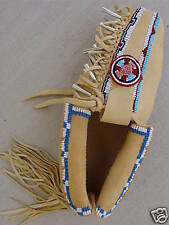 ELK ROSETTE BEADED MOCCASINS MUKLUKS SHOES BOOTS 5-12