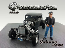 GREEZERZ JOHNNY FIGURE FOR 1:18 SCALE DIECAST MODEL CARS  AMERICAN DIORAMA 23806