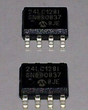 100x 24LC128-I/SN SOP-8 24LC128I 24LC128 CMOS Serial EEPROM/FREE Tracking No