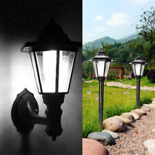 Solar Power LED Path Way Wall Landscape Mount Garden Fence Lamp Outdoor Light !