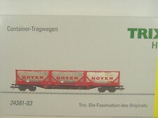 Märklin 44700 wagons conteneurs soutènement DB AG Piste h0