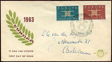 Netherlands 1963 Europa FDC First Day Cover #C27135