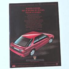 Publicidad ROVER 216 GTi 16v / Anuncio Advert Publicite Car Coche Coupe Spanish
