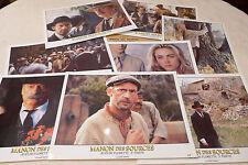 Manon des Sources jeu 8 photos poster d'exploitation B
