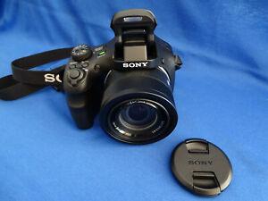 SONY CYBER - SHOT DSC-HX400 / HX400V 20.4 MP DIGITAL CAMERA - BLACK