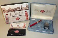 STILOGRAFICA Aurora 88 Roma ARGENTO 925 SILVER NEW FOUNTAIN PEN Special Edition