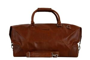 Duffel Travel Weekend Bag Cow Soft Leather