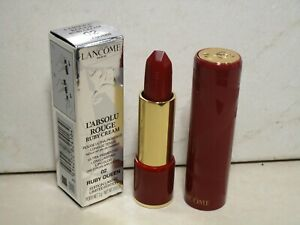 LANCOME L'ABSOLU ROUGE RUBY CREAM LIPCOLOR #02 RUBY QUEEN 0.10 OZ SEE DETAIL
