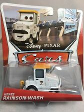 2012 / 2013 Disney Pixar Cars 2: KRATE RAINSON-WASH (#6/7) Airport Adventures