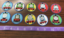 Thomas the Train Tank Engine  Fabric Iron On Appliques style #15