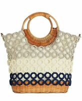 INC International Concepts INC Crochet Multi Circles Crossbody Bag - NWT